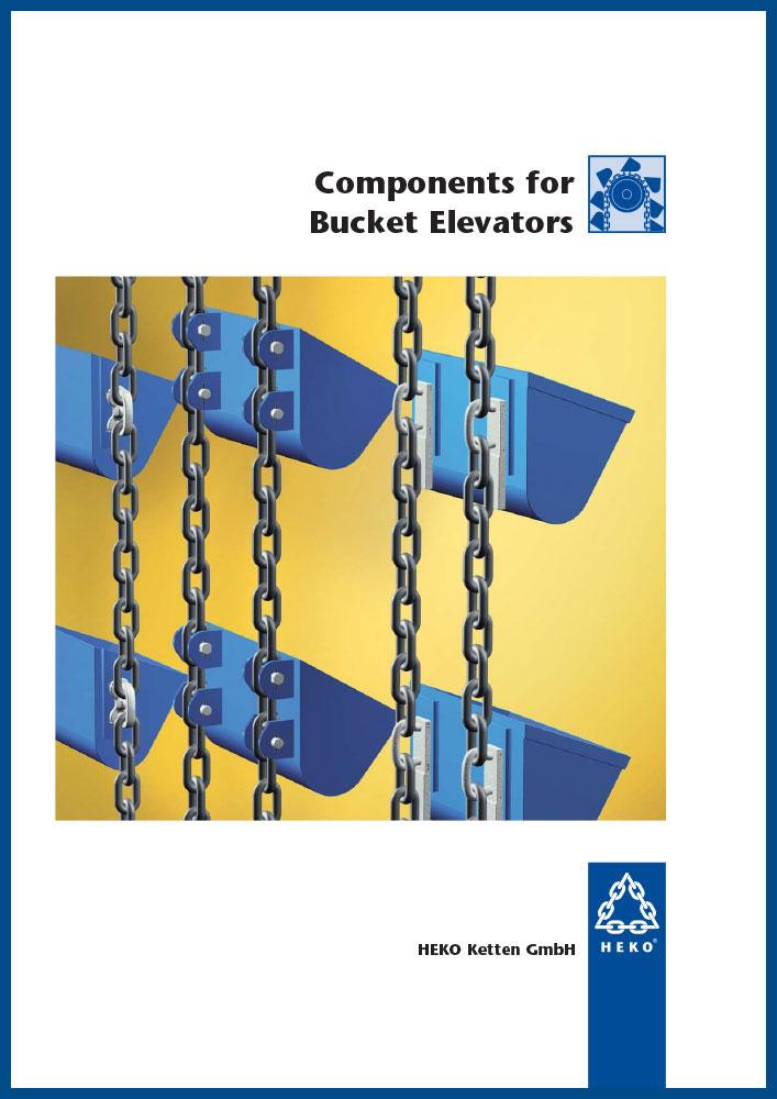 Components for bucket elevators, EN