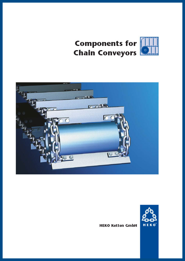 Components for chain conveyors, EN