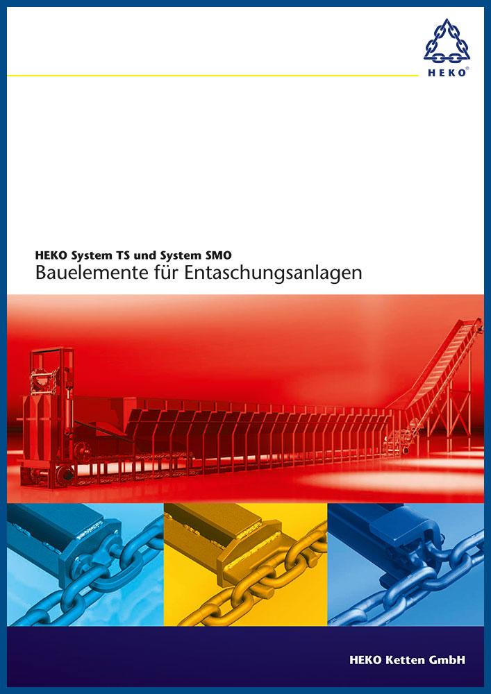 HEKO System TS und System SMO, Bauelemente für Entaschungsanlagen, DE