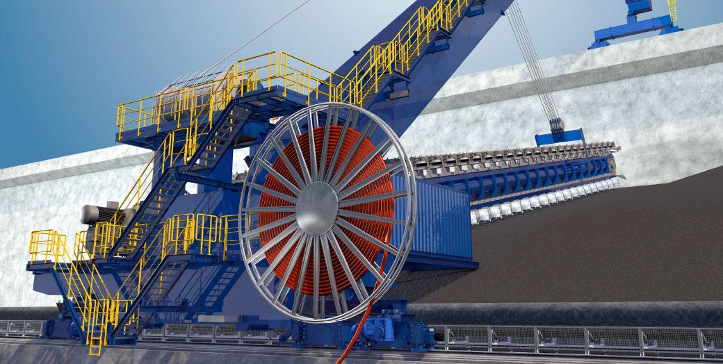 Stockpile discharge conveyors – Reclaimer conveyors