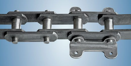 Steel link chains