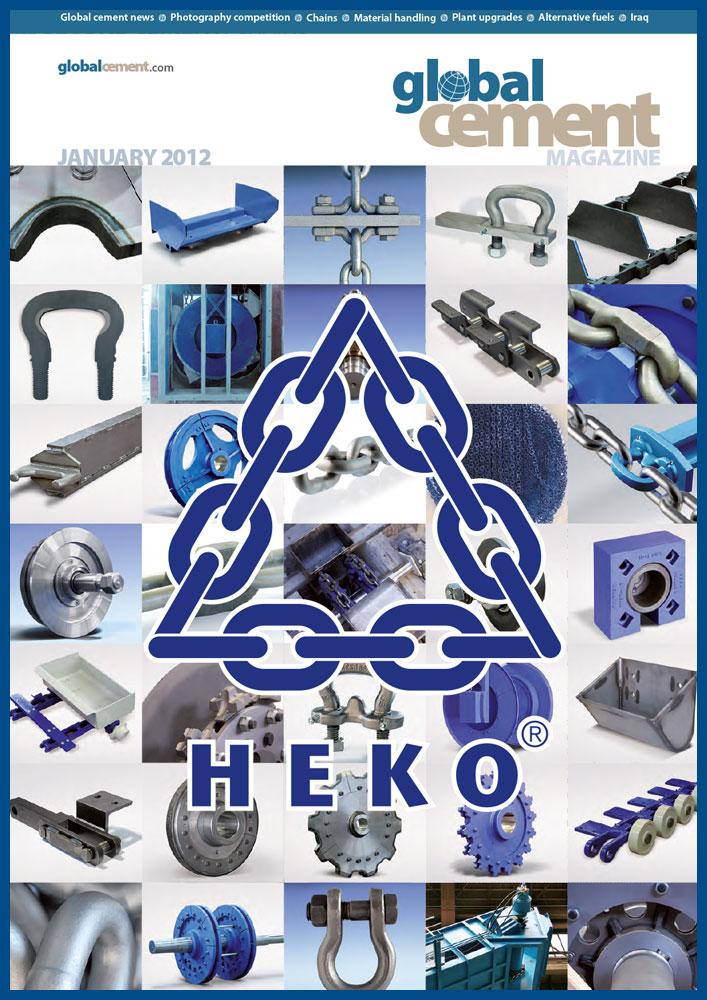 HEKO Strongest of links, GlobalCement 01_2012