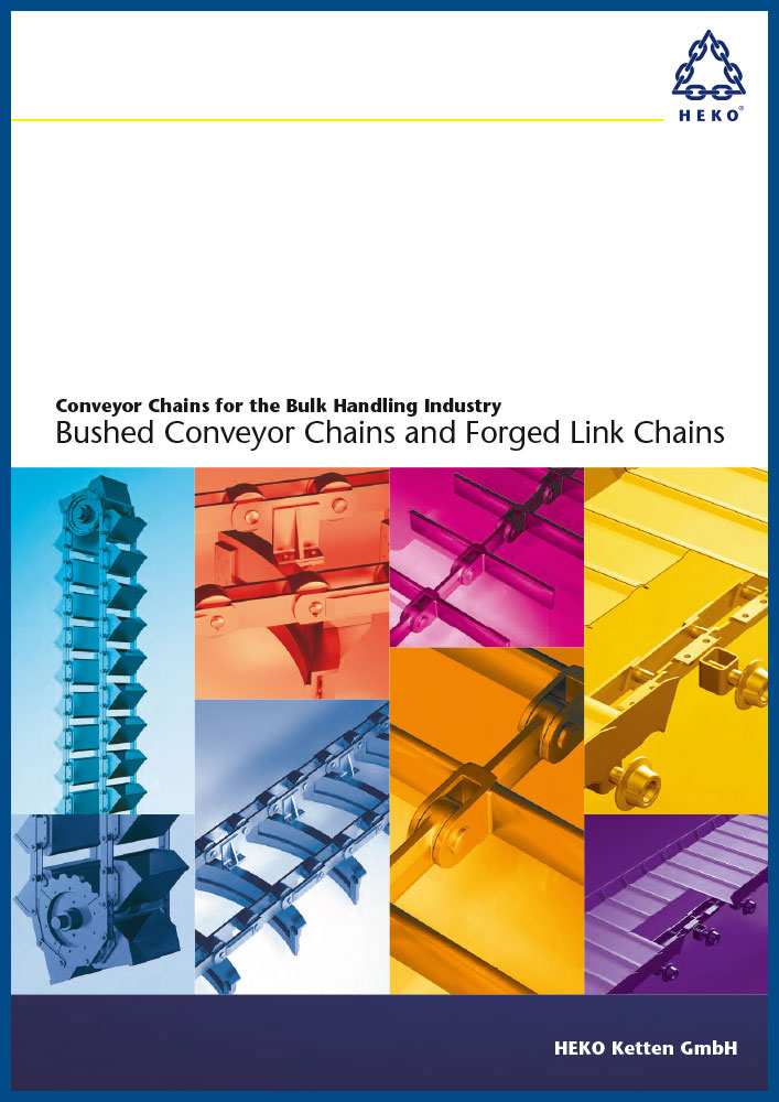 Conveyor chains for the bulk handling industry, EN
