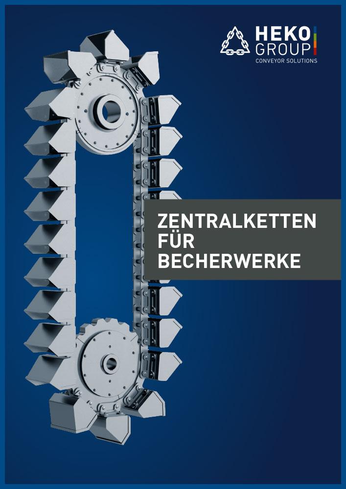Zentralketten für Becherwerke, DE