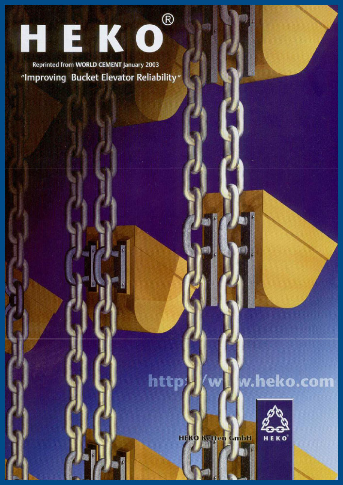 HEKO Improving bucket elevator reliability, WorldCement 01_2003